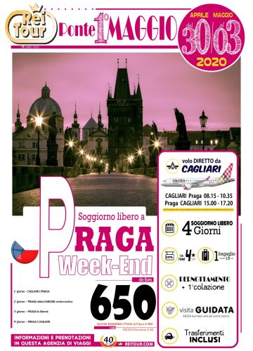 LOCANDINA - 2020 Ponte 1 Maggio - Praga soggiorno libero